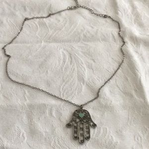 🦋Cool Bohemian Flair Hand Necklace Too Fun 🦋